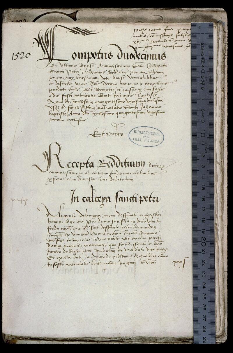 Angers, Bibl. mun., ms. 0773, f. 036 - vue 1