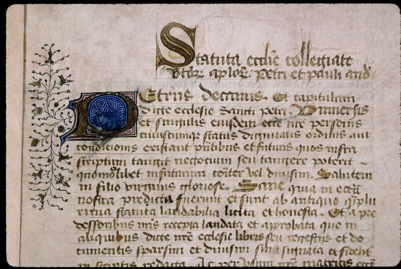 Angers, Bibl. mun., ms. 0777, f. 001 - vue 3