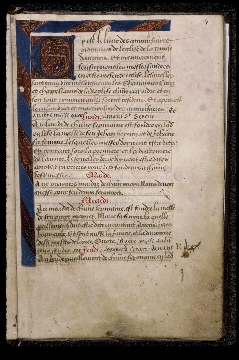 Angers, Bibl. mun., ms. 0778, f. 004 - vue 2