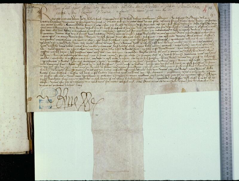 Angers, Bibl. mun., ms. 0794, f. 004 - vue 1