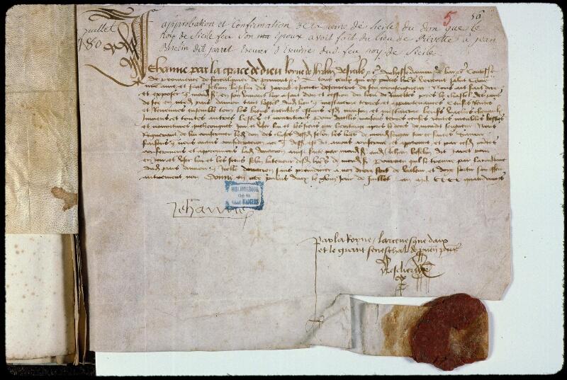Angers, Bibl. mun., ms. 0794, f. 005 - vue 1