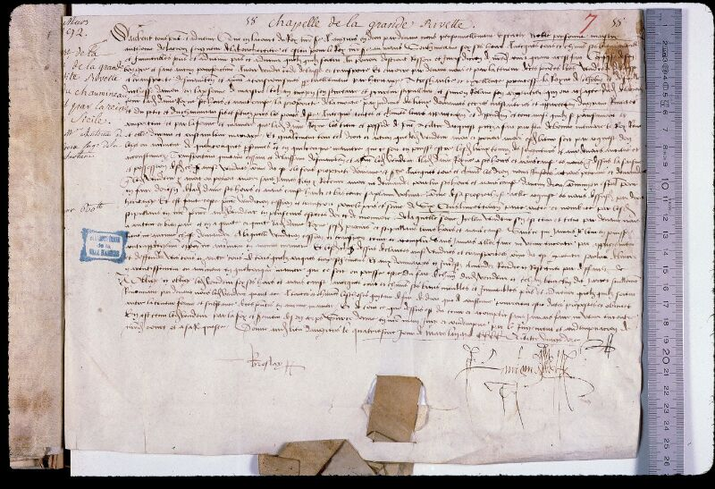 Angers, Bibl. mun., ms. 0794, f. 007 - vue 1