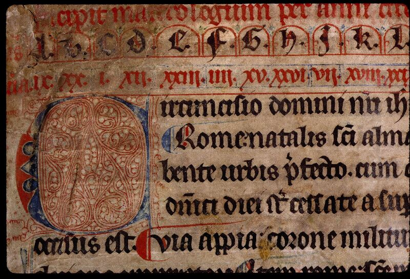 Angers, Bibl. mun., ms. 0799, f. 006 - vue 2