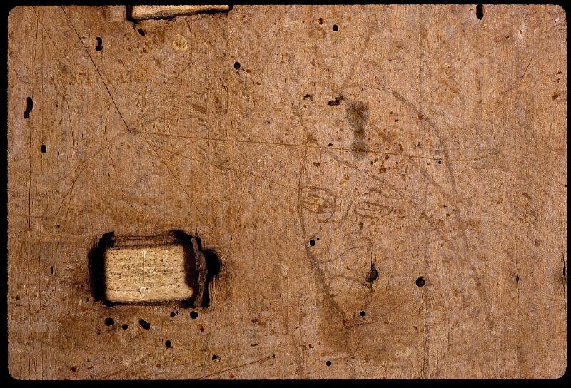 Angers, Bibl. mun., ms. 0803, contre-plat inf.