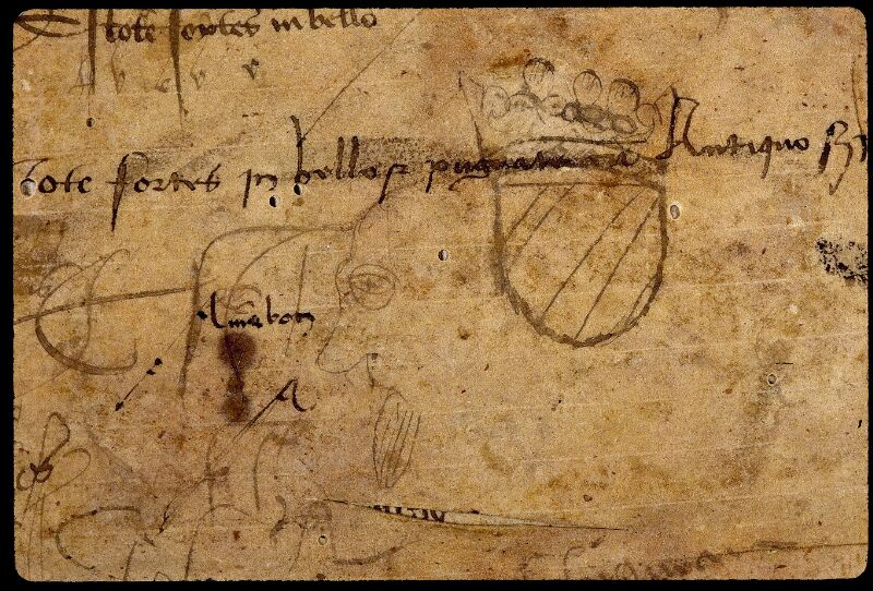 Angers, Bibl. mun., ms. 0803, f. 138v - vue 2