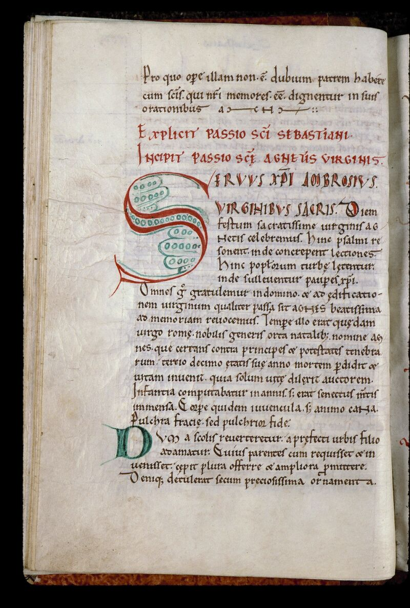 Angers, Bibl. mun., ms. 0805, f. 031v - vue 1
