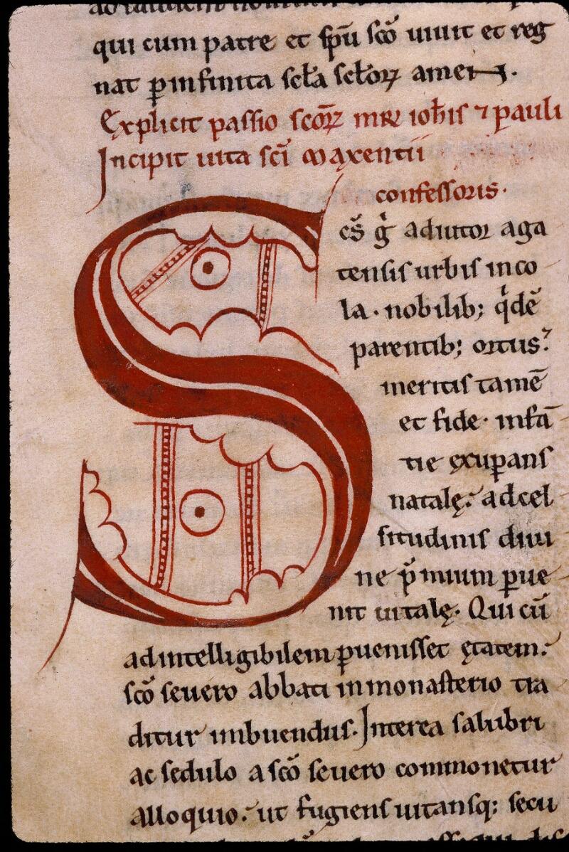 Angers, Bibl. mun., ms. 0806, f. 025