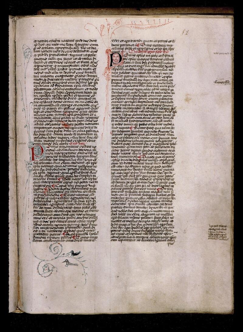 Angers, Bibl. mun., ms. 0808, f. 082 - vue 1