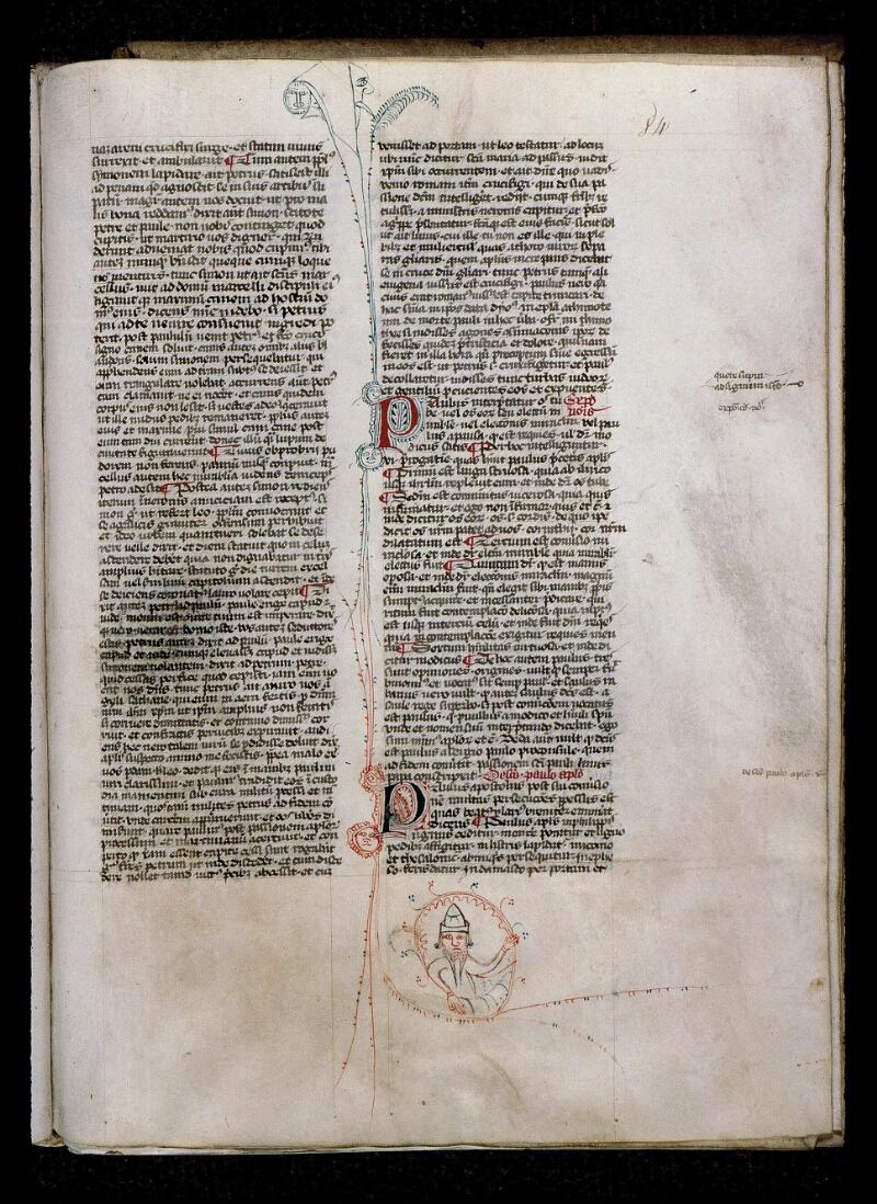Angers, Bibl. mun., ms. 0808, f. 084 - vue 1