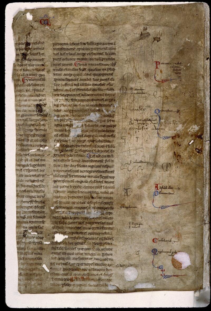 Angers, Bibl. mun., ms. 0813, f. 000Av