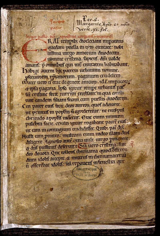 Angers, Bibl. mun., ms. 0813, f. 001