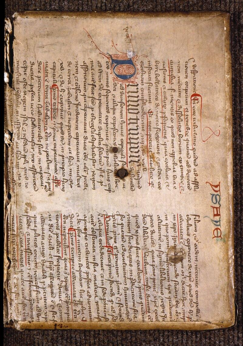Angers, Bibl. mun., ms. 0817, contre-plat inf.
