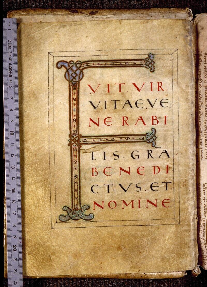 Angers, Bibl. mun., ms. 0817, f. 002v - vue 1
