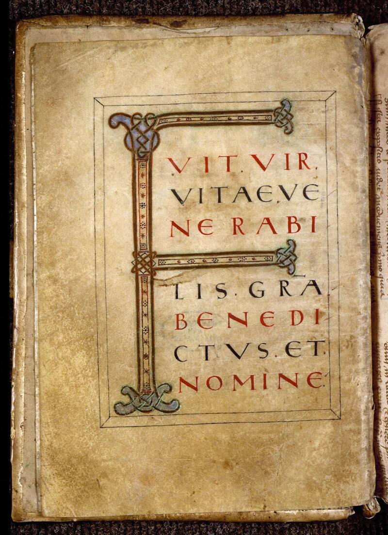 Angers, Bibl. mun., ms. 0817, f. 002v - vue 2