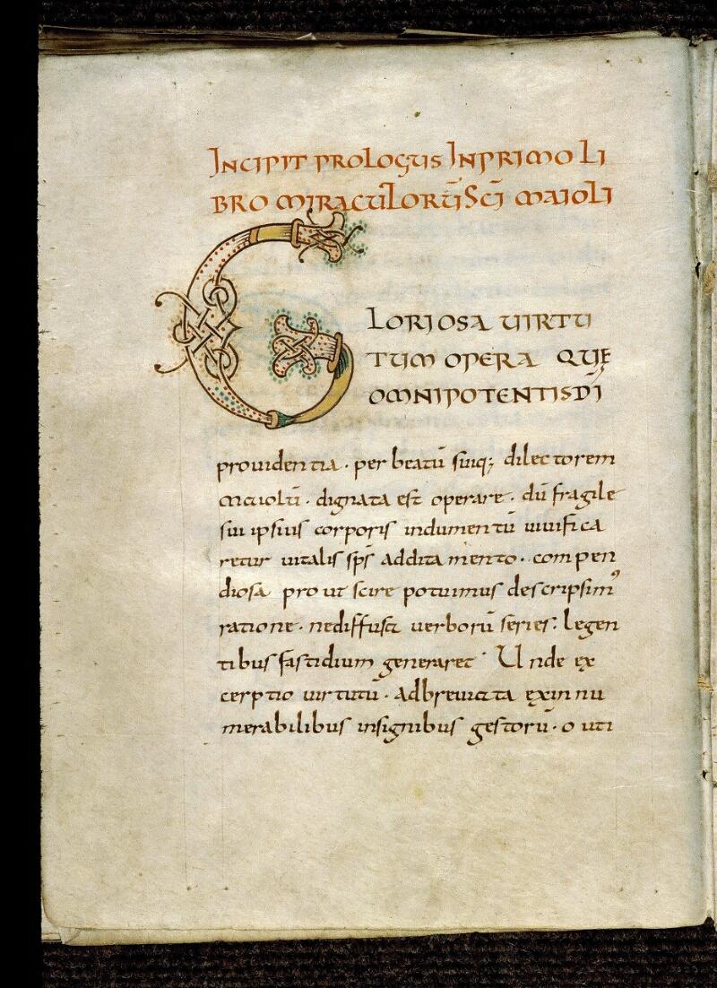 Angers, Bibl. mun., ms. 0820, f. 039v - vue 1