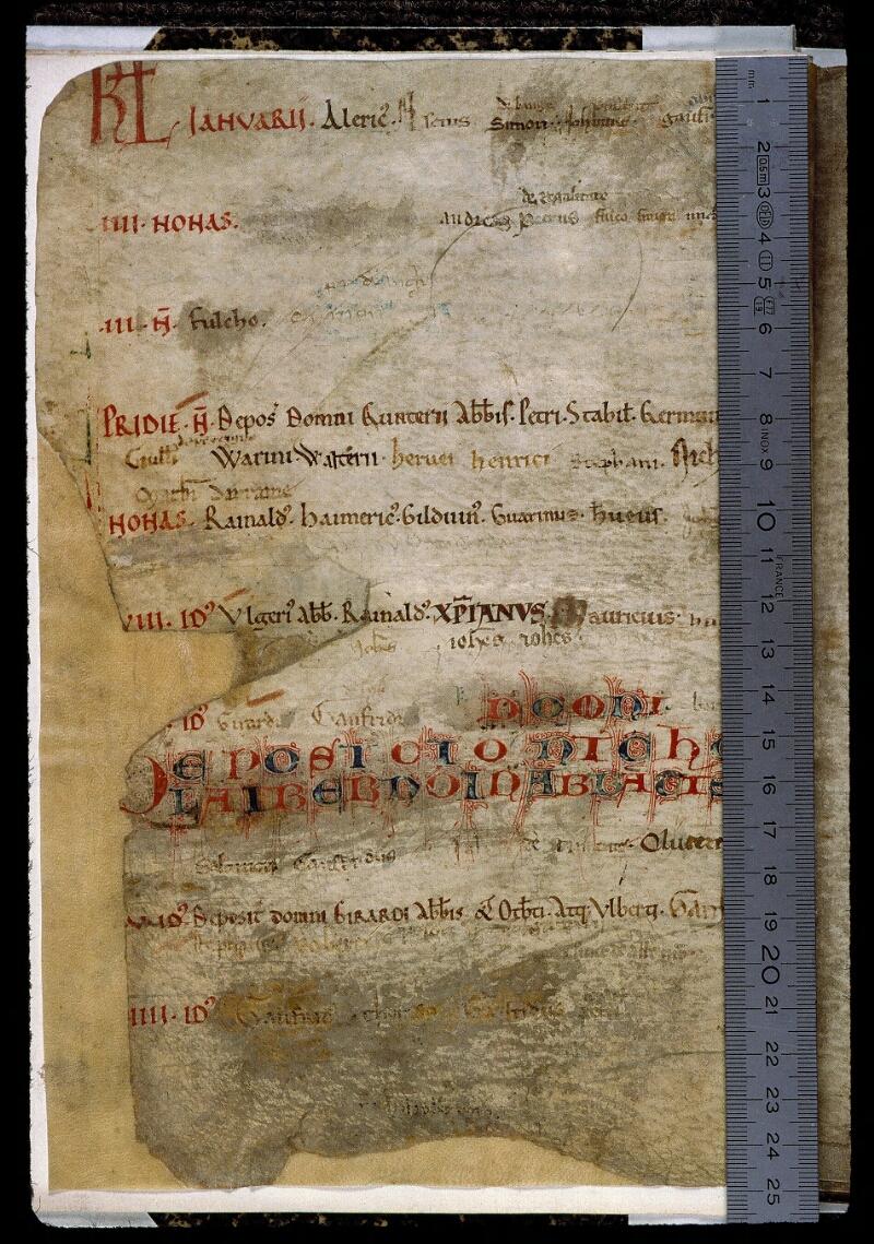 Angers, Bibl. mun., ms. 0831, p. 002 - vue 1