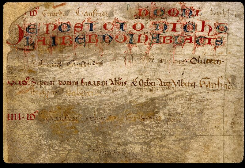 Angers, Bibl. mun., ms. 0831, p. 002 - vue 3