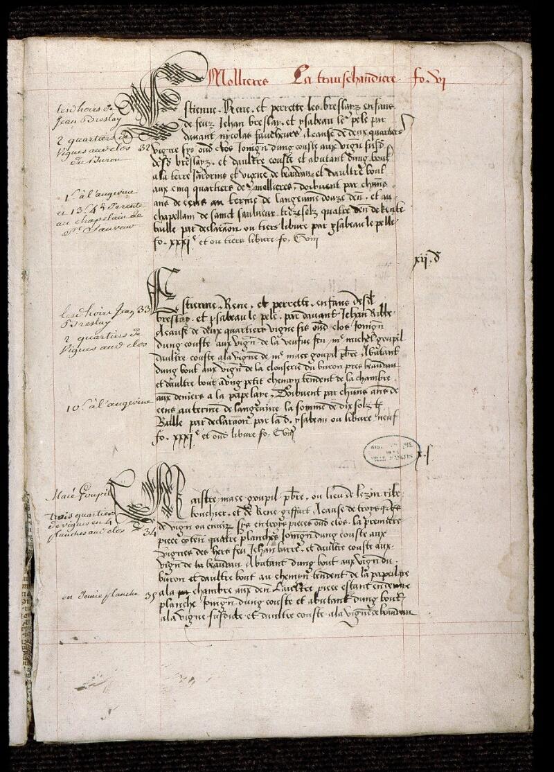 Angers, Bibl. mun., ms. 0833, f. 006