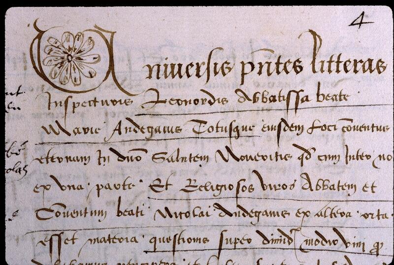 Angers, Bibl. mun., ms. 0839, f. 004 - vue 3