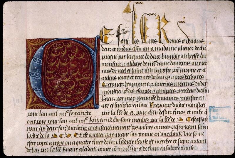 Angers, Bibl. mun., ms. 0853, f. 002 - vue 3