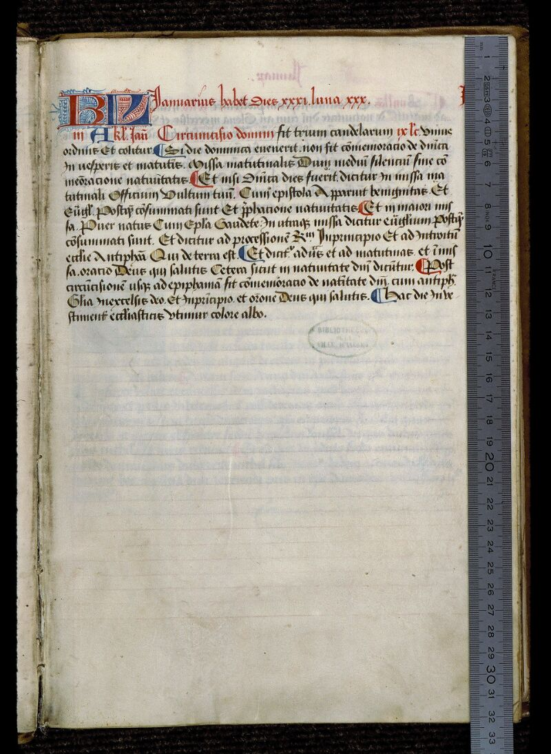 Angers, Bibl. mun., ms. 0855, f. 005 - vue 1