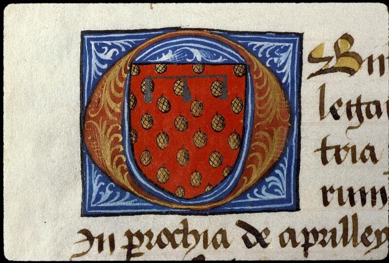 Angers, Bibl. mun., ms. 0855, f. 012v - vue 2