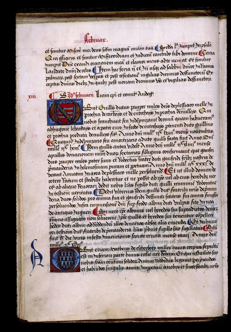 Angers, Bibl. mun., ms. 0855, f. 021v - vue 1