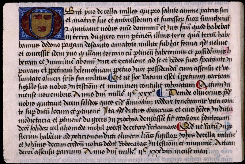 Angers, Bibl. mun., ms. 0855, f. 022v - vue 1