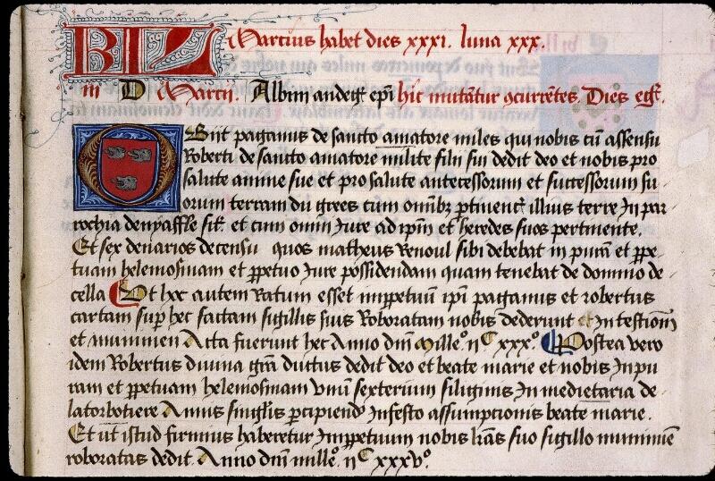 Angers, Bibl. mun., ms. 0855, f. 027 - vue 1