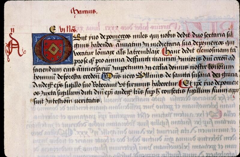 Angers, Bibl. mun., ms. 0855, f. 027v - vue 1