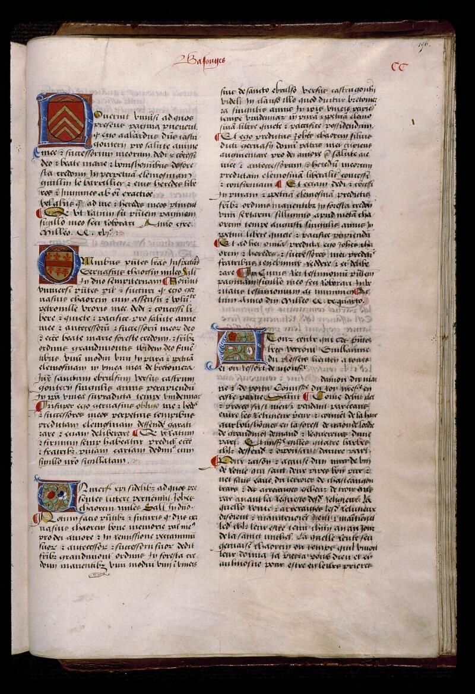 Angers, Bibl. mun., ms. 0856, f. 196 - vue 1
