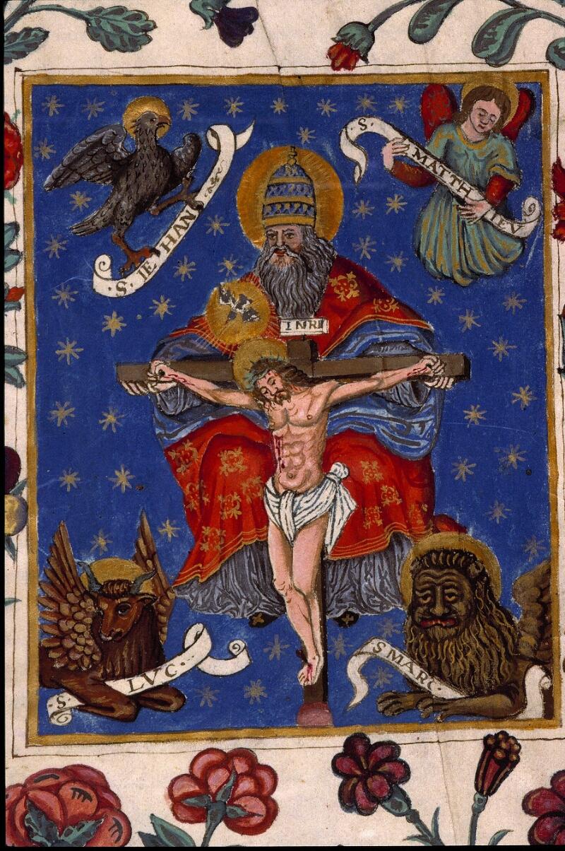 Angers, Bibl. mun., ms. 1137, f. 002 - vue 3