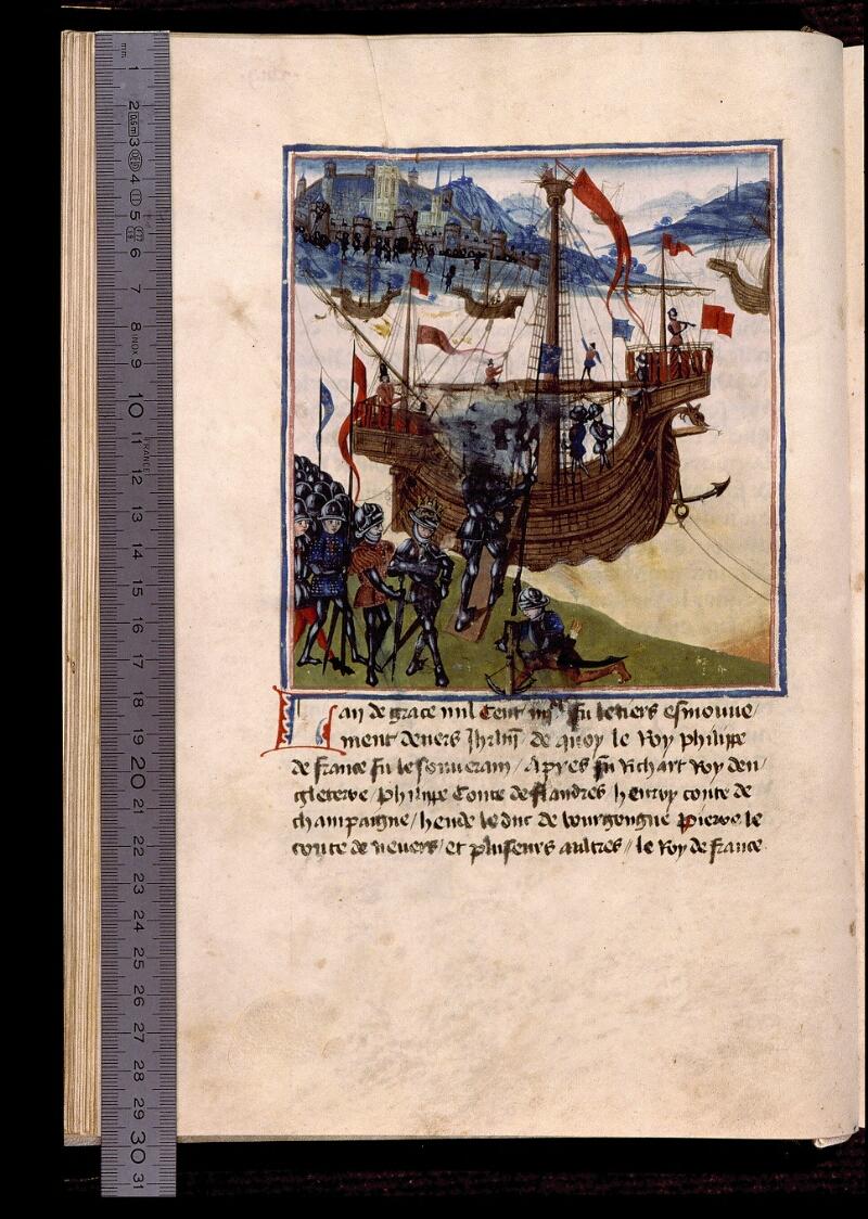Angers, Bibl. mun., ms. 1174, f. 018v - vue 1