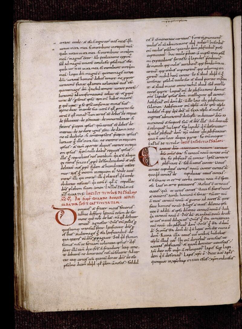 Angers, Bibl. mun., ms. 1320, f. 172v - vue 1