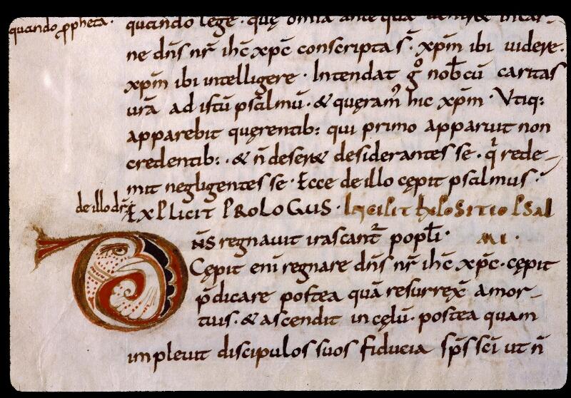 Angers, Bibl. mun., ms. 1320, f. 181v - vue 2