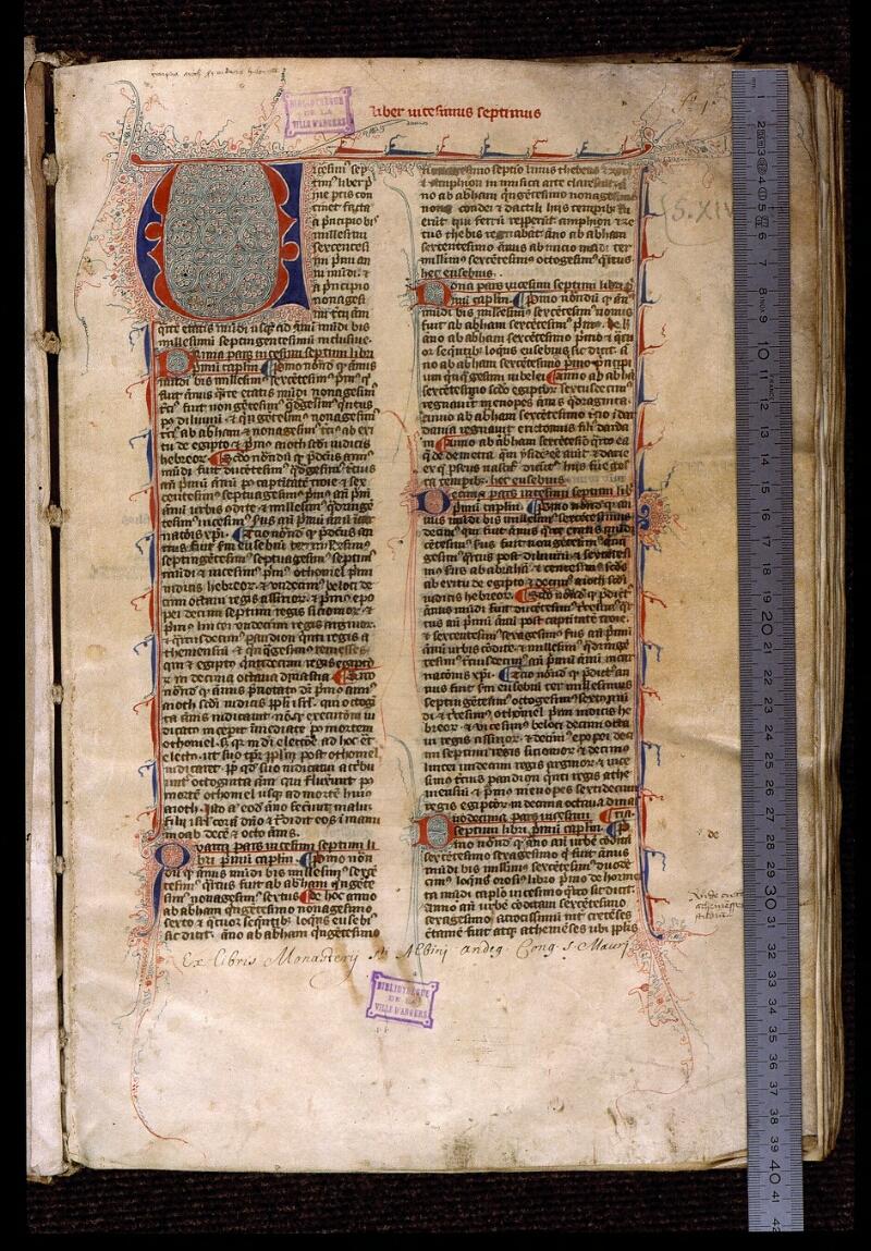 Angers, Bibl. mun., ms. 1372, f. 001 - vue 1
