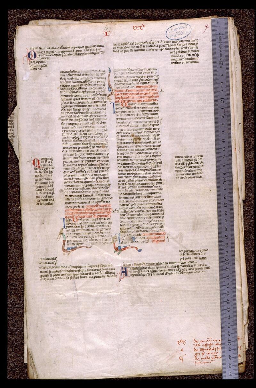Angers, Bibl. mun., ms. 1898, n° 3, f. 001 - vue 1