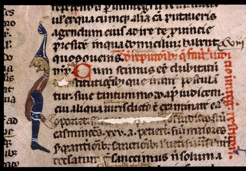 Angers, Bibl. mun., ms. 1898, n° 3, f. 010v