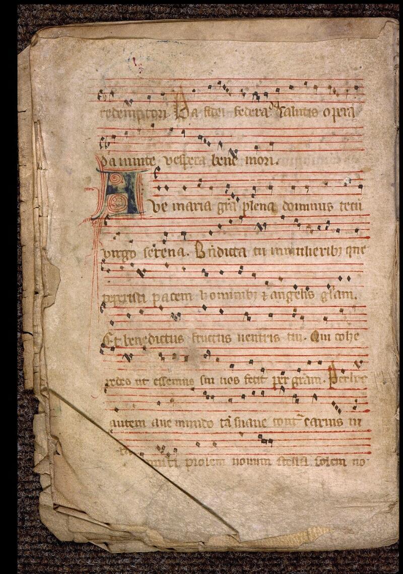 Angers, Bibl. mun., ms. 1901, n° 06, f. 006v - vue 2