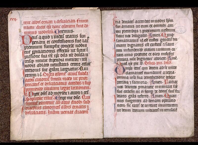 Angers, Bibl. mun., ms. 1901, n° 08, f. 004v-005