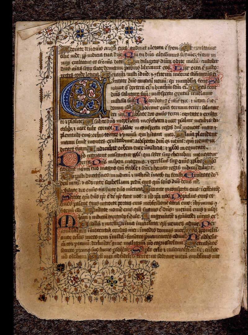 Angers, Bibl. mun., ms. 1901, n° 15, f. 002v - vue 2
