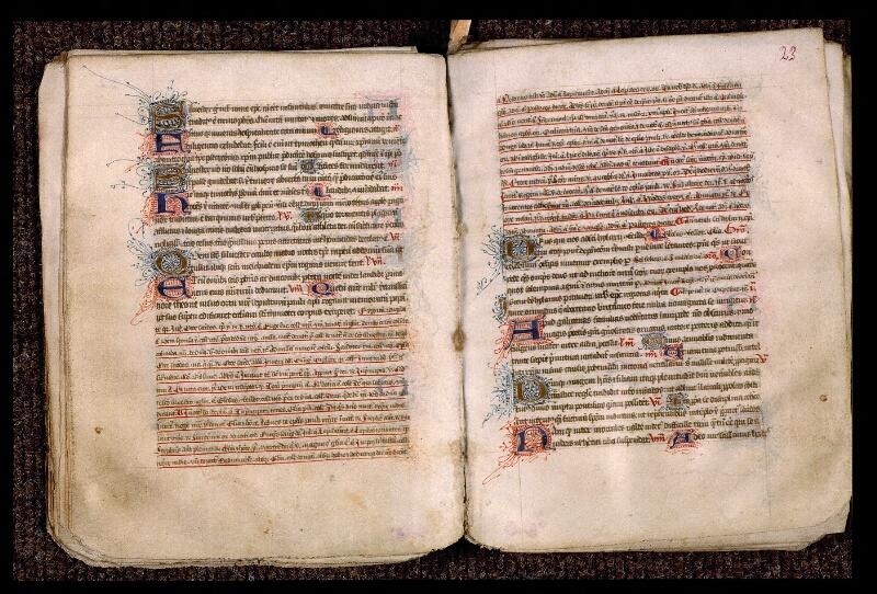 Angers, Bibl. mun., ms. 1901, n° 15, f. 022v-023
