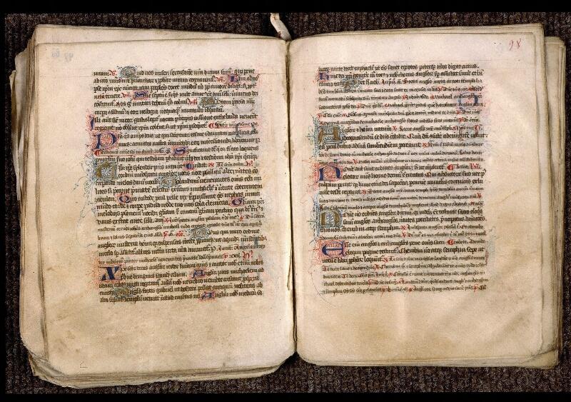 Angers, Bibl. mun., ms. 1901, n° 15, f. 097 bis v-098