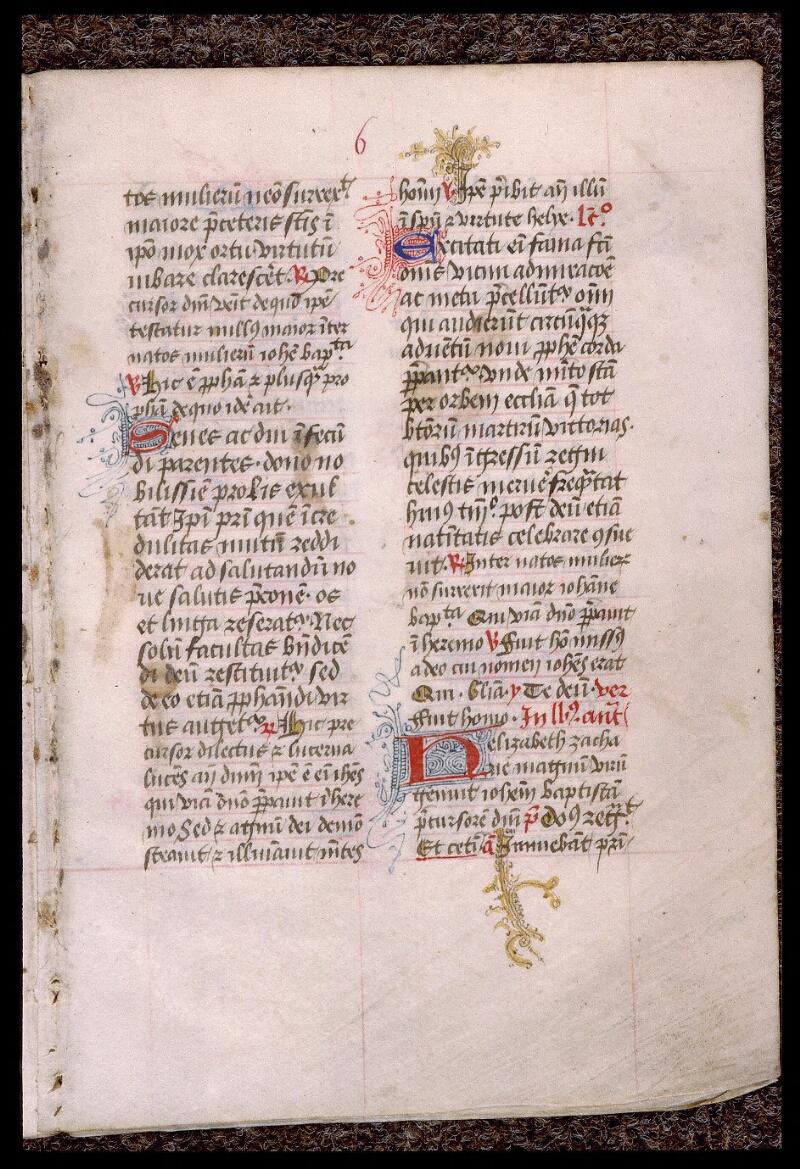 Angers, Bibl. mun., ms. 1901, n° 16, f. 006 - vue 2