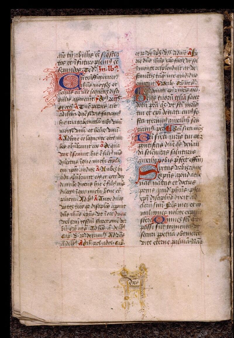 Angers, Bibl. mun., ms. 1901, n° 16, f. 032v