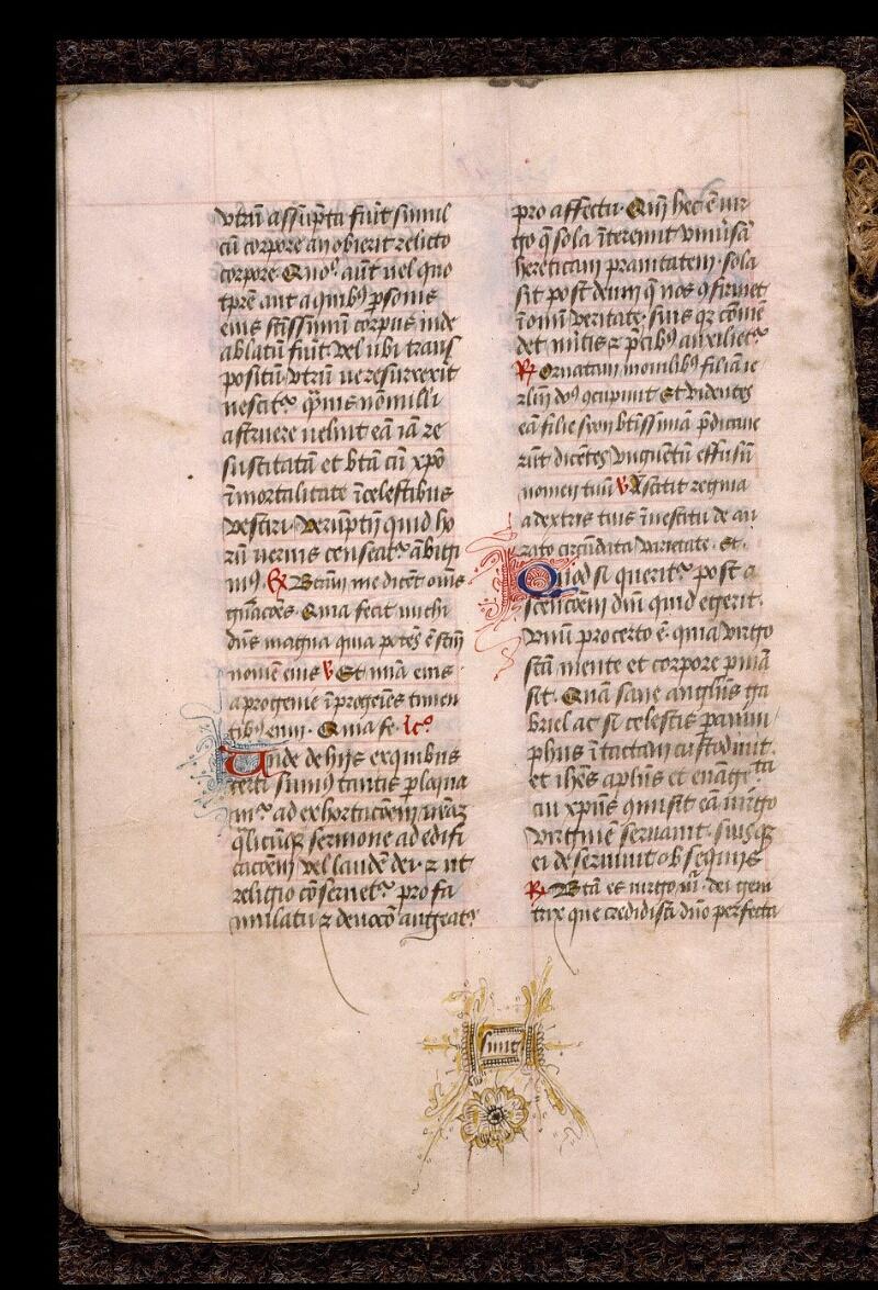 Angers, Bibl. mun., ms. 1901, n° 16, f. 040v