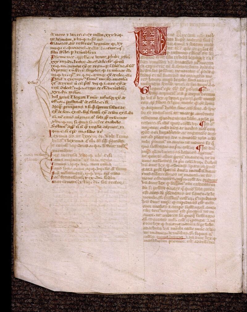 Angers, Bibl. mun., ms. 1902, n° 3, f. 002v - vue 2