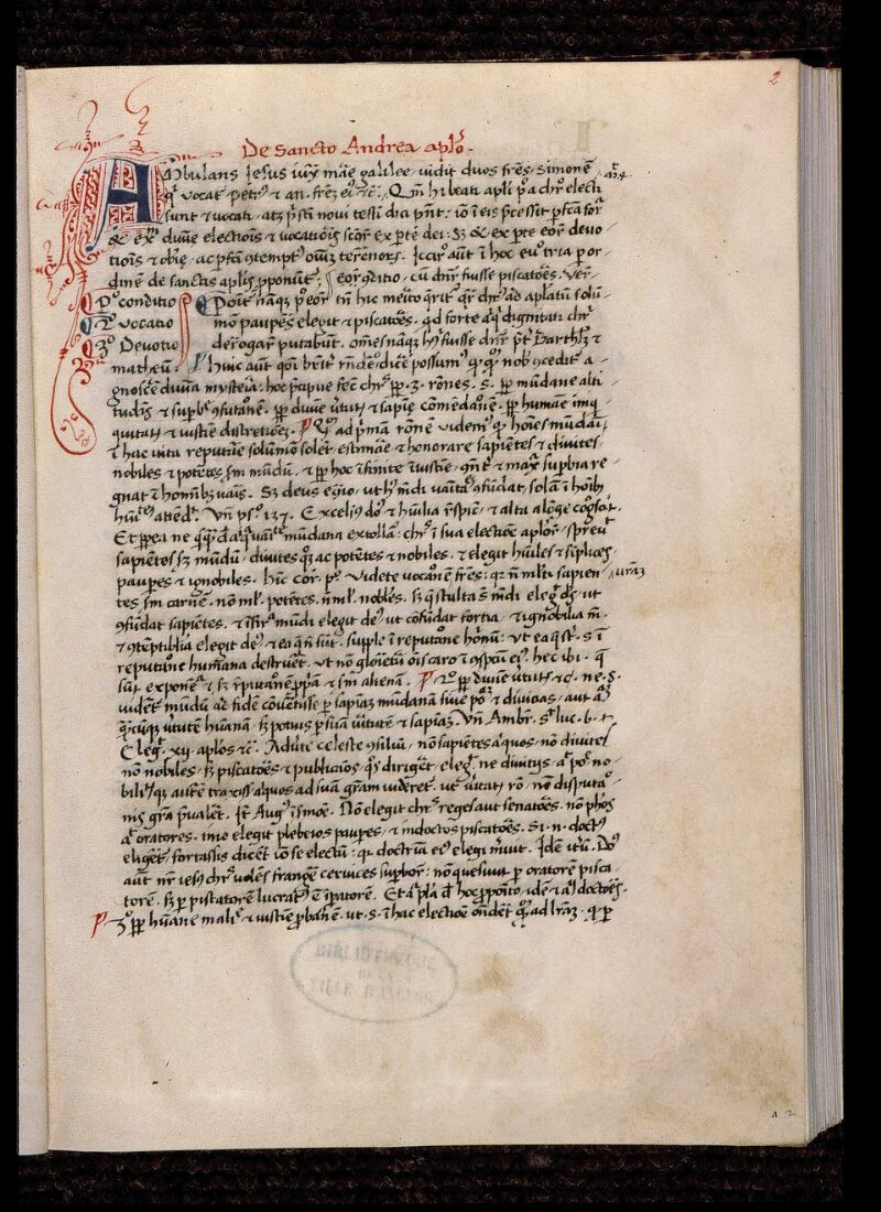 Angers, Bibl. mun., ms. 1932, f. 002