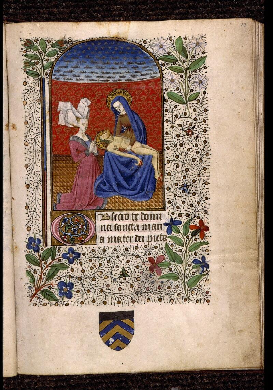 Angers, Bibl. mun., ms. 2047, f. 013 - vue 1
