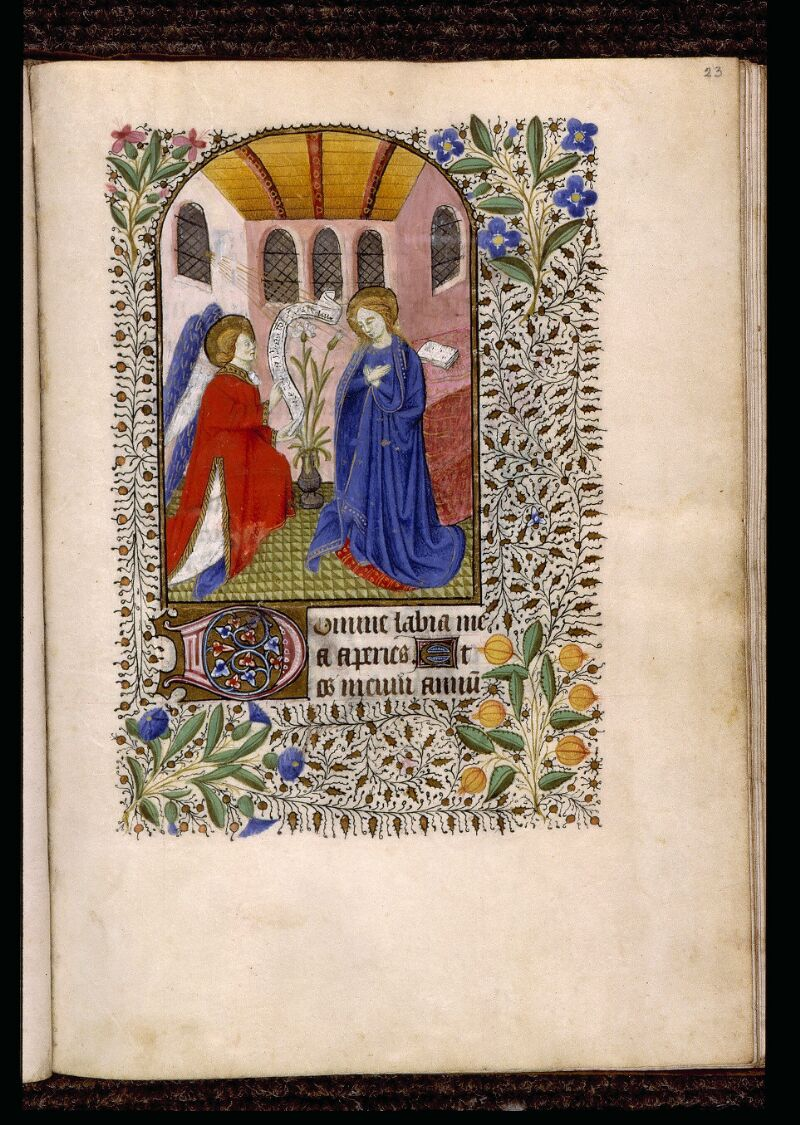 Angers, Bibl. mun., ms. 2047, f. 023 - vue 1